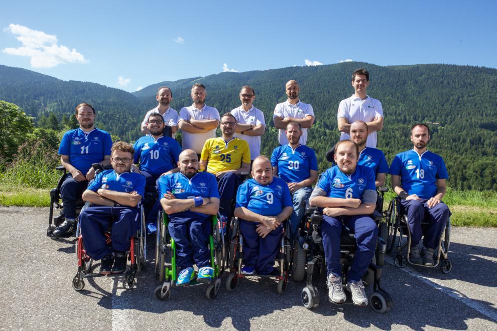 La Nazionale italiana di wheelchair hockey Campione del mondo 2018